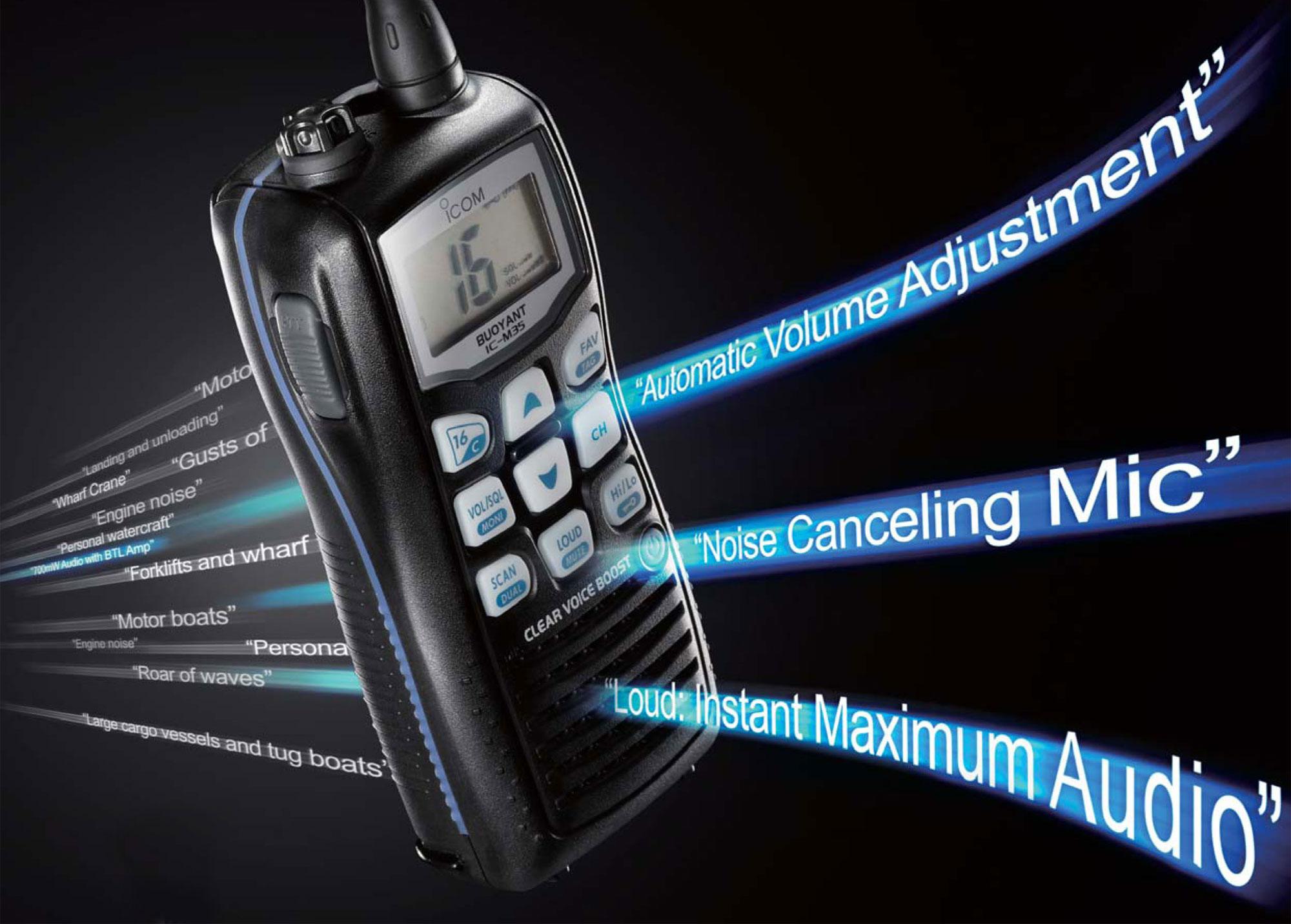 Handheld Marine Radios